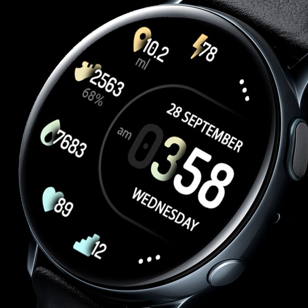 Samsung Galaxy Watch Faces Kd30 Cute Beautiful Colors In 2020 Samsung Watches Galaxy Android Watch Faces