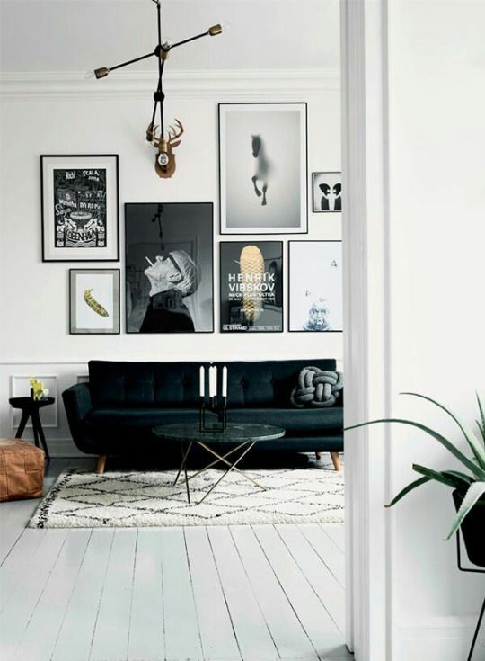 Fuck yeah interior designs livingroom art deco living room black sofa also best interiors images in home decor bed furniture rh pinterest