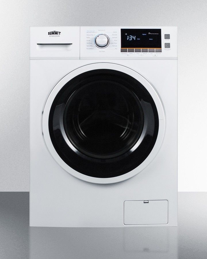 Whirlpool Lte5243dq 24 Stacked Laundry Center W Electric Dryer