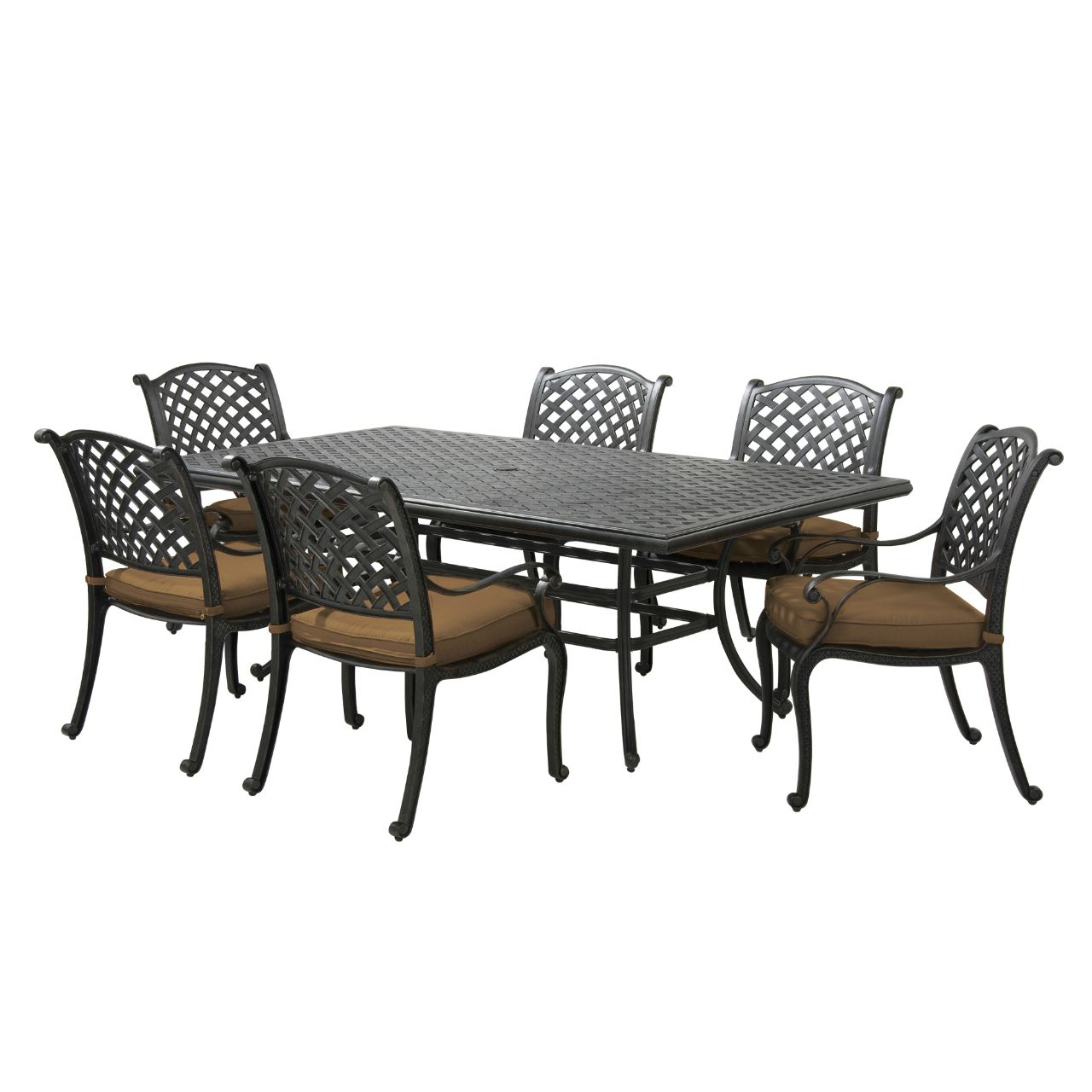 Patio Furniture Abq Nm: Taos 7-Piece Dining Set