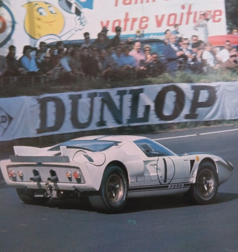 Brief History Of The Ford Gt40 At Le Mans Ford Gt40 Le Mans