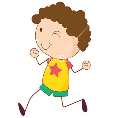 simple child cartoon vector on vectorstock - Cartoon Picture Of A Child