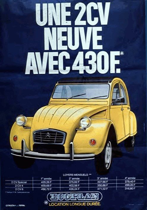 pingl par dav rd sur catalogue pub auto pinterest 2cv citroen 2cv et volkswagen. Black Bedroom Furniture Sets. Home Design Ideas