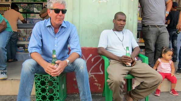 Resultado de imagen para anthony bourdain in dominican republic