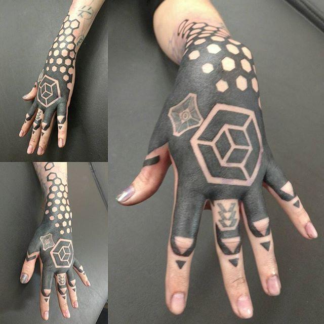Variants hand job tattoo