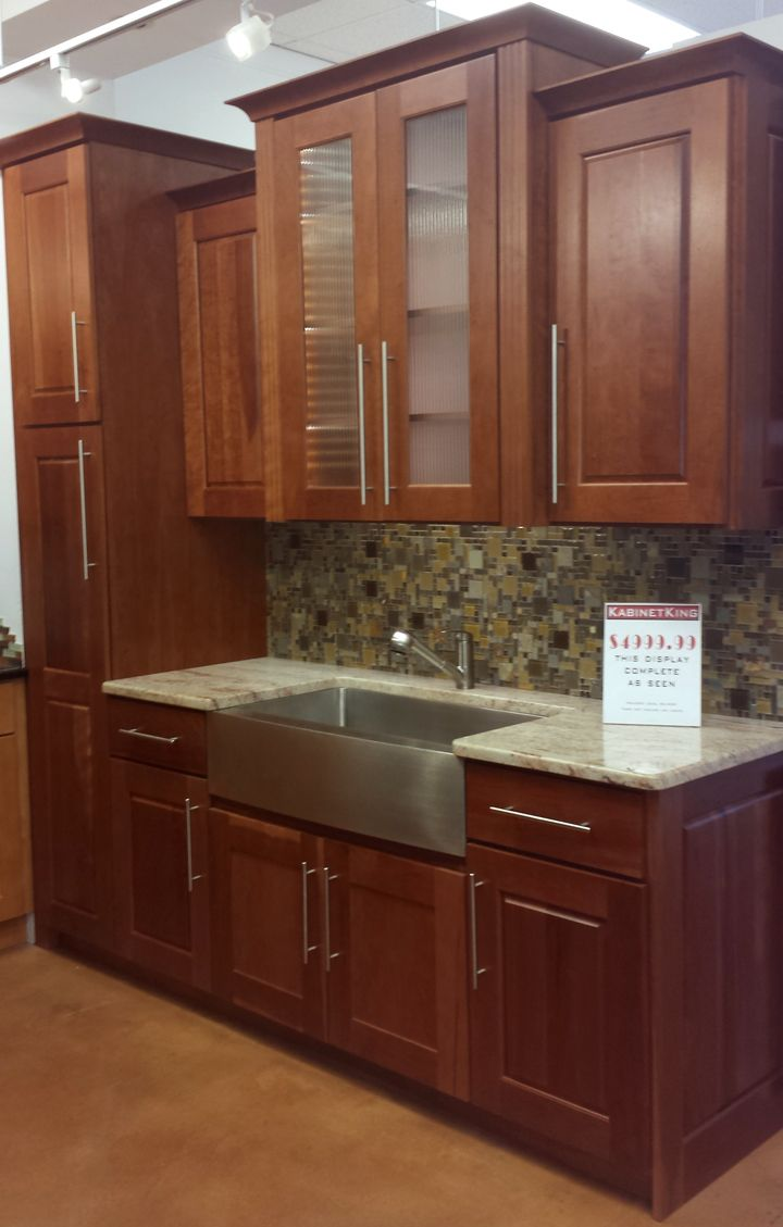 American Chestnut Kitchen Cabinets From Cabinet Displays For