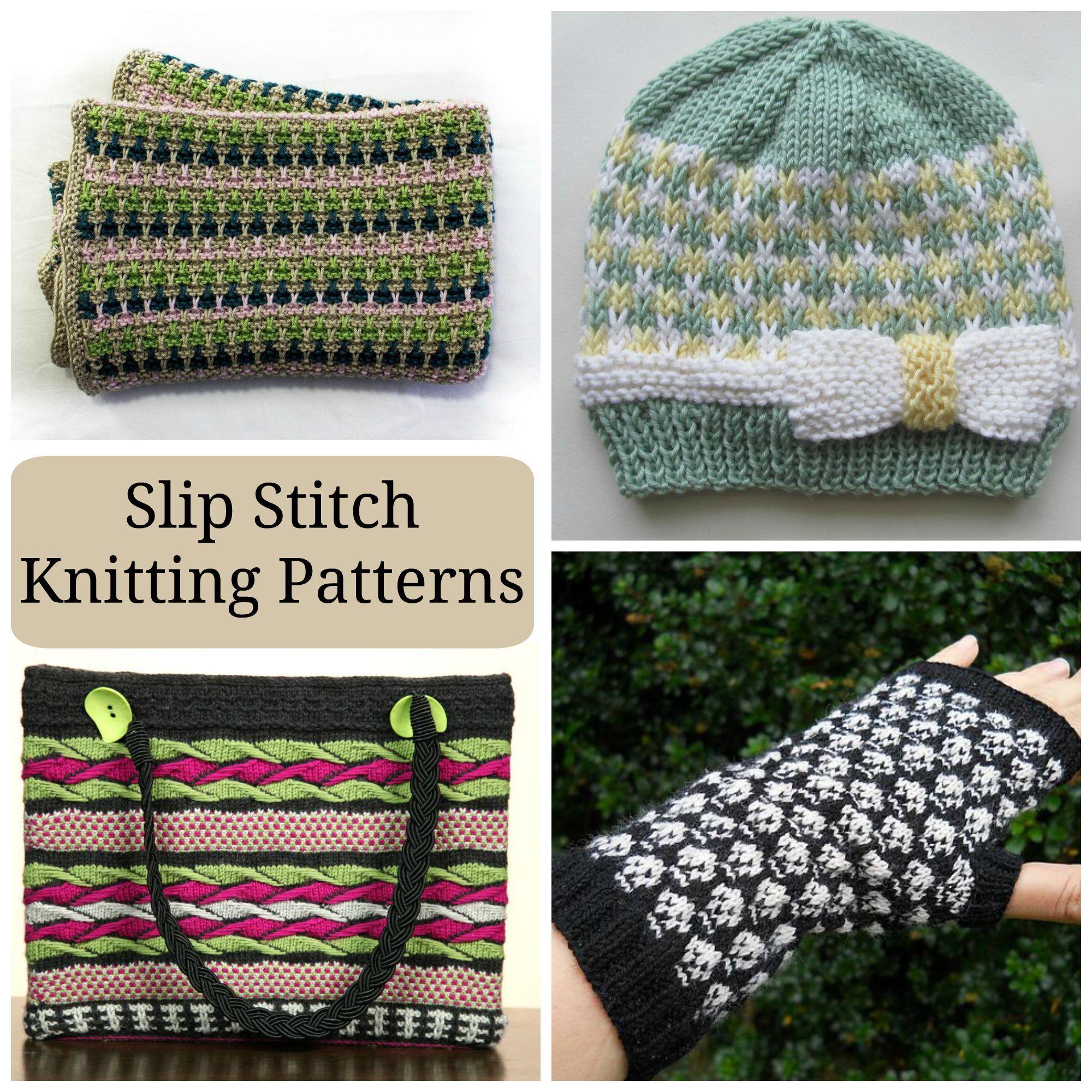 Slip Stitch Knitting Patterns Image collections - handicraft ideas ...