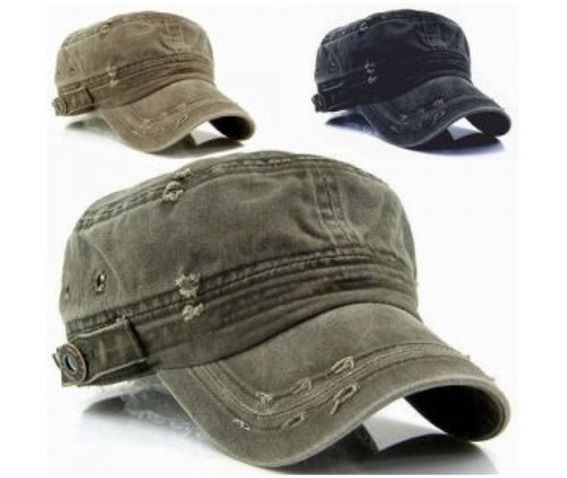 ff5a2833 Vintage Washed Military Short Brim Hat Sold By NSIE NewStylish $16.00 USD