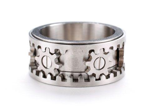 Gear Ring by Kinekt Design 3 pics video Wedding Wedding