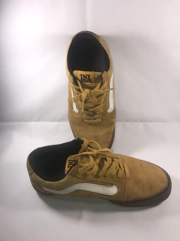 66355ab29f Vans TNT 5 Mustard   Gum Men s size 8 Shoe RARE!
