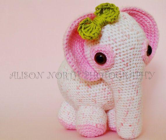 Pink crochet elephant pattern | Crochet elephant, Crochet elephant ... | 479x570