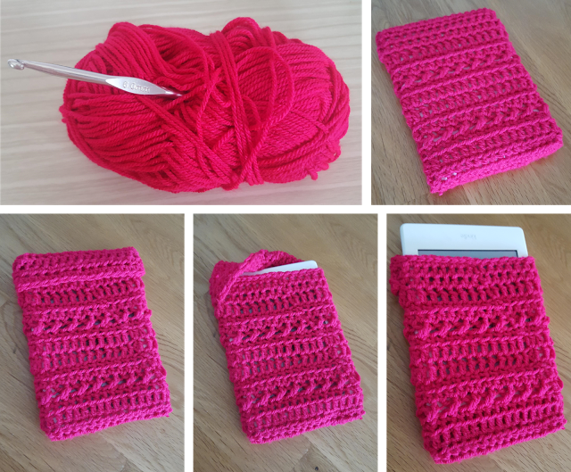 FREE Kindle Case Cover Pattern (Crochet) -InTheLoopCrafts.blogspot ...