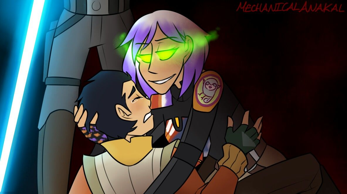 Ezra and Sabine - C'mon children | Ezra Bridger and Sabine ...