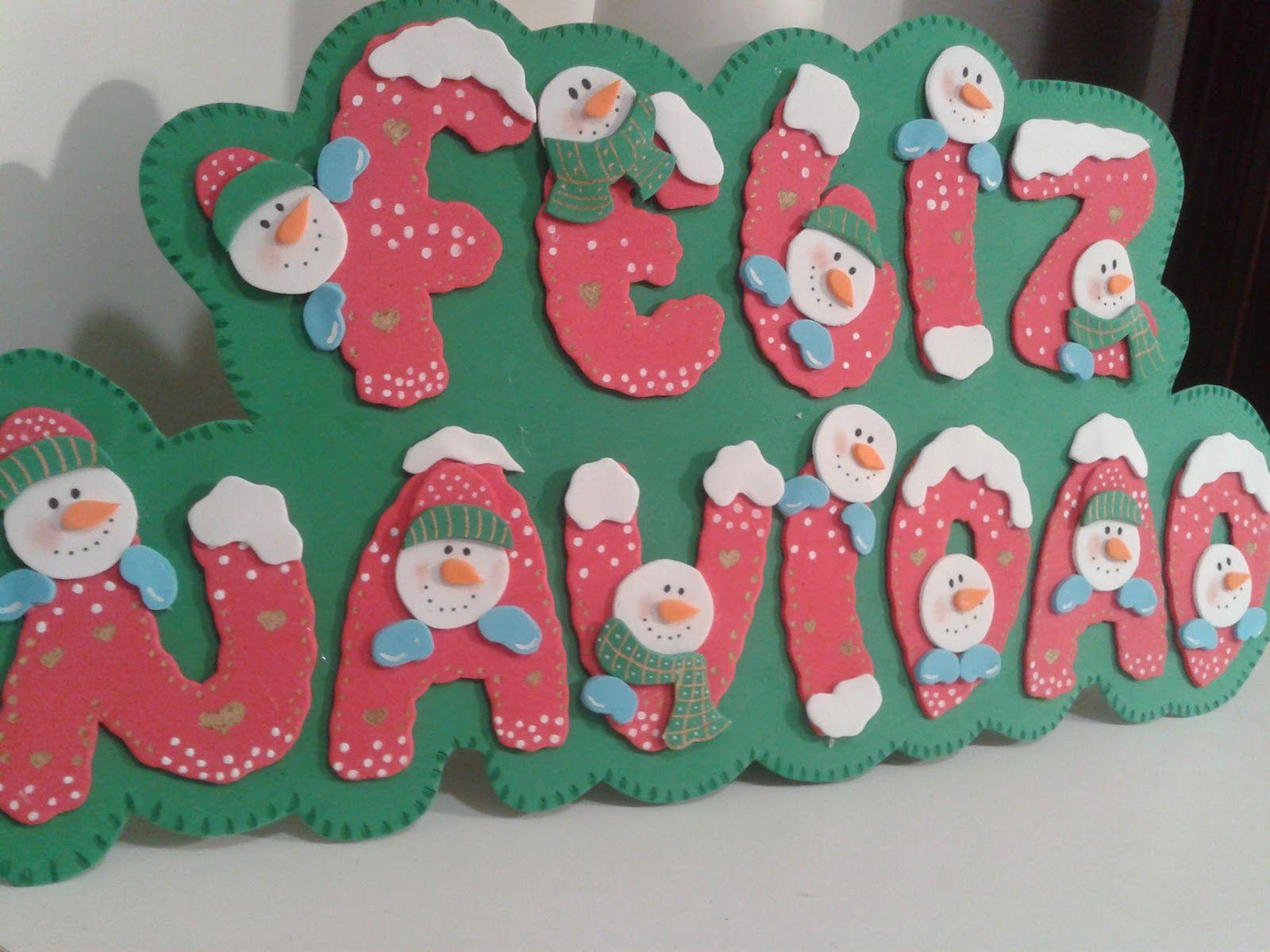Alfileres De Boda Martos Cartel Goma Eva Feliz Navidad Letras Feliz Navidad Manualidades Navidad Goma Eva Goma Eva Navidad