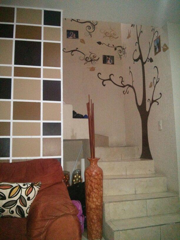 Decoracion por facebook vinyldesigngdl vinil decorativo for Jaula de la escalera de color idea