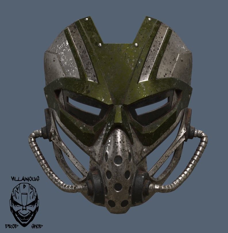 Mortal Kombat 11 Kabal Mask Cool Masks Masks Art Mask