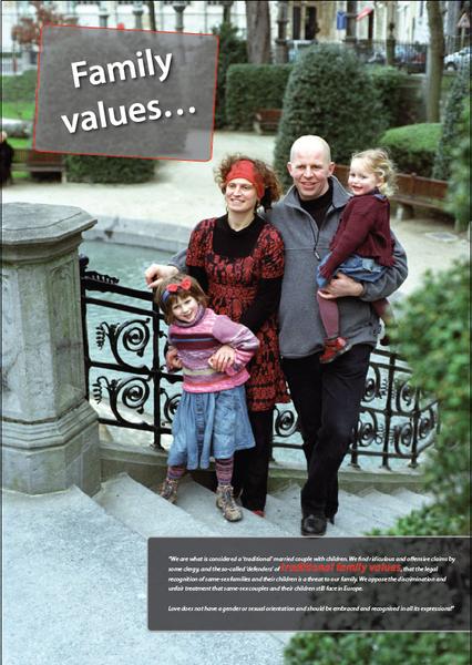 Same-sex family values - Saloncom