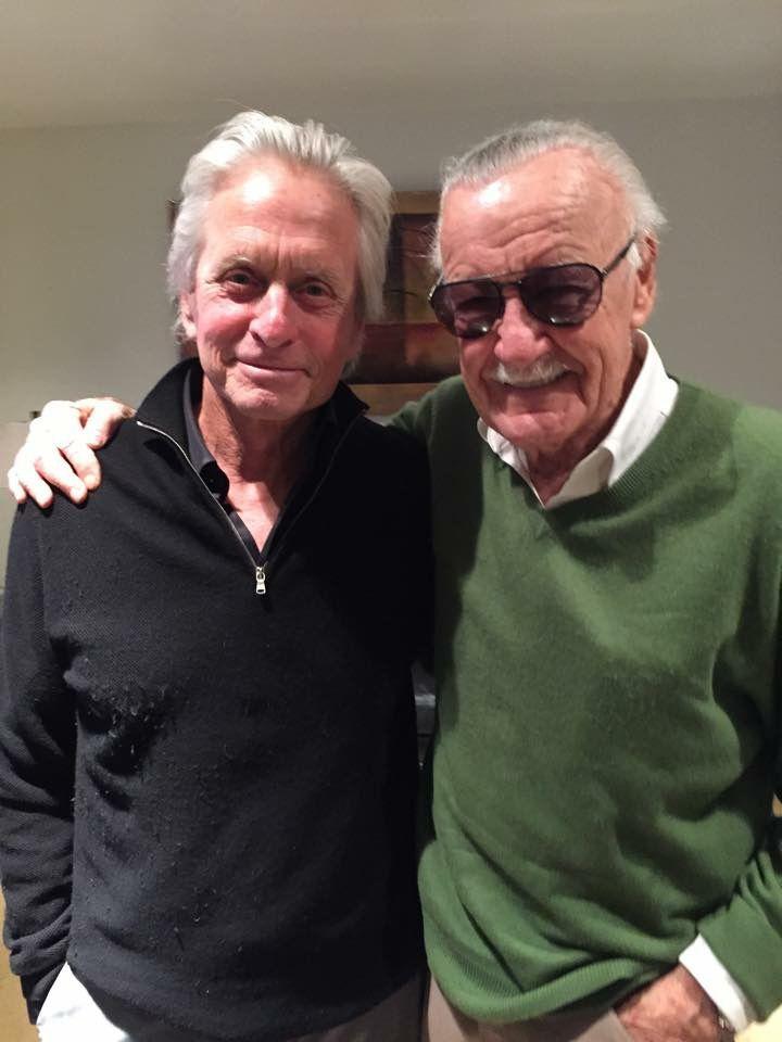 Michael Douglas & Stan Lee !