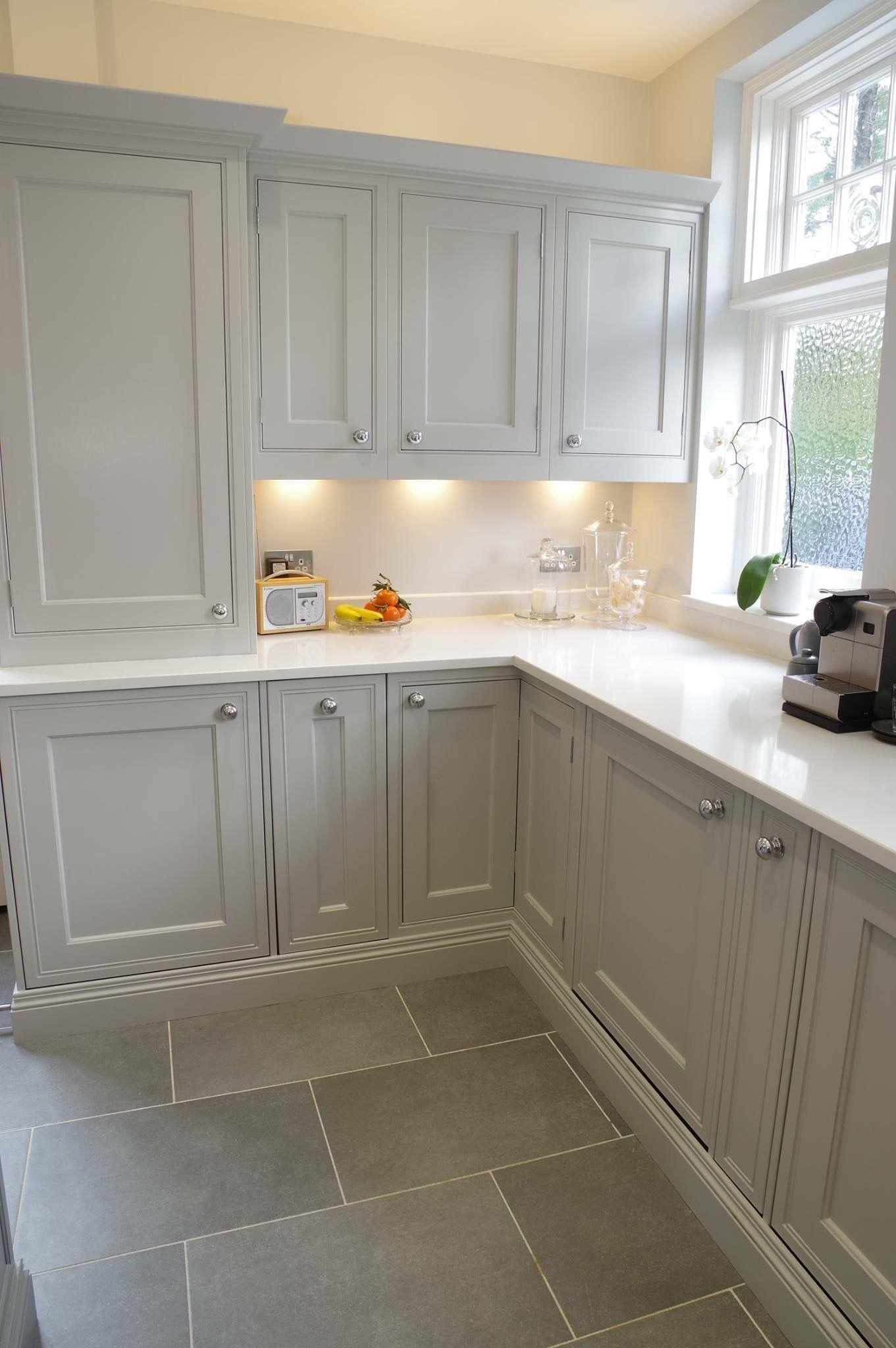 Light Grey Cabinets Wohnideen Hausdekor Hausdekoration Dekoration Schlafzimmer Wohnzimmer Einrichten Kitchen Interior Kitchen Renovation Modern Kitchen