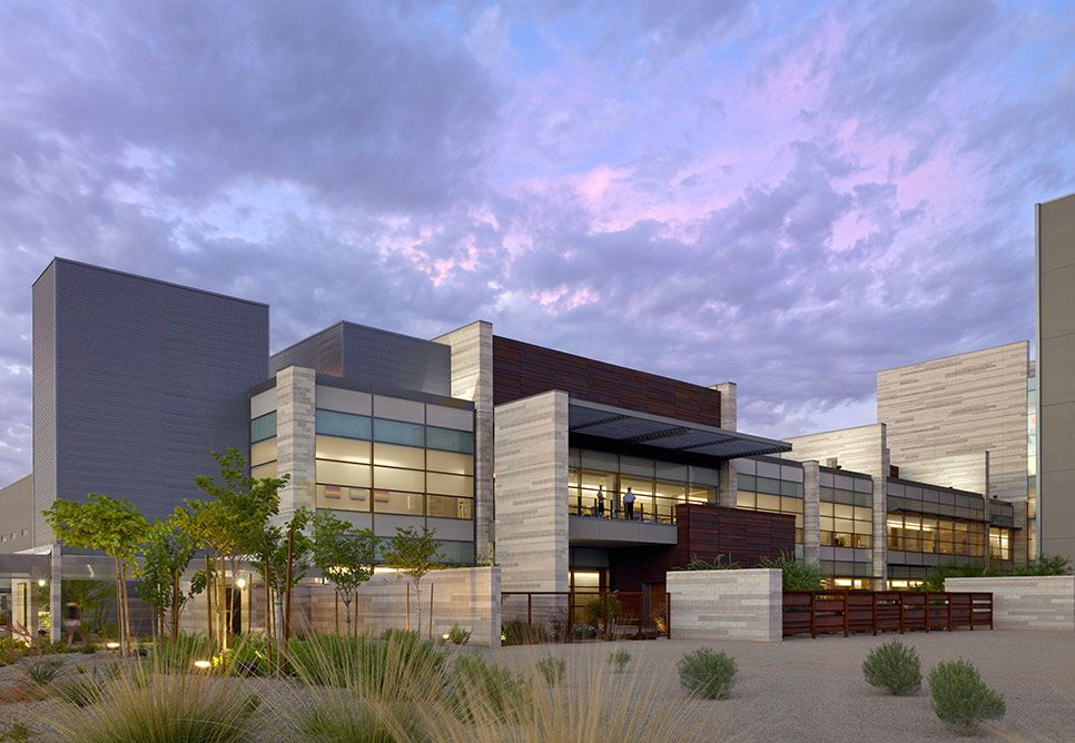Banner Gateway Medical Center By Nbbj Hospital Architecture Healthcare Architecture Facade Design