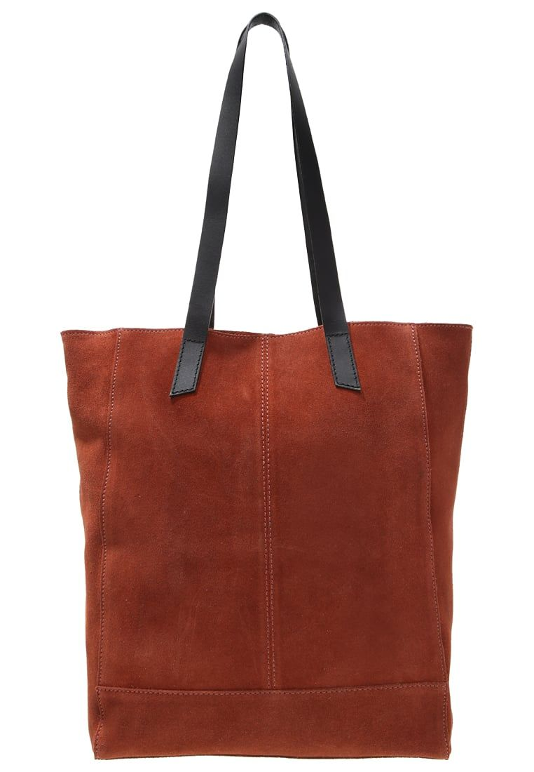 56d726c07 que es un personal shopper -bolso shopping terracota | bolsos y ...