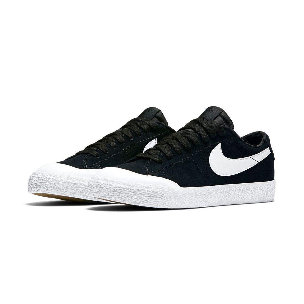 Nike Sb Blazer Zoom Low Xt Skate Shoes Mens 12 Black White 864348 019 Nike Skateshoes Nike Skateboarding Nike Sb Sneakers Nike