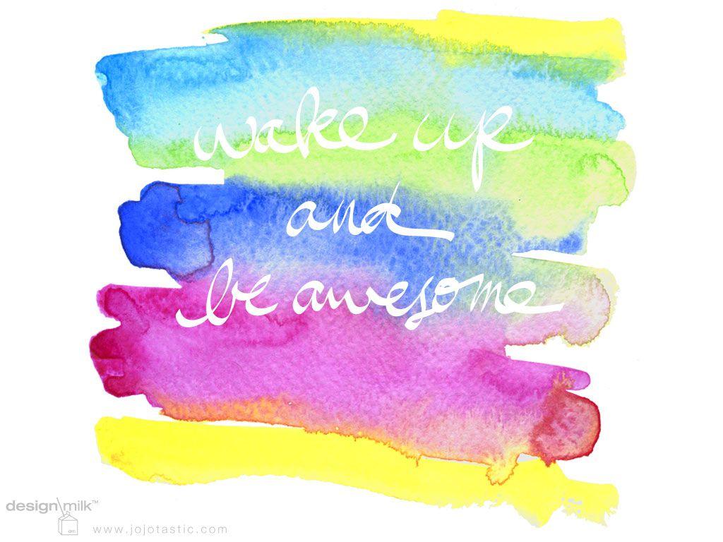 Colorful Rainbow Watercolor Desktop Background Design Milk Desktop Wallpaper Design Desktop Background Design Free Desktop Wallpaper