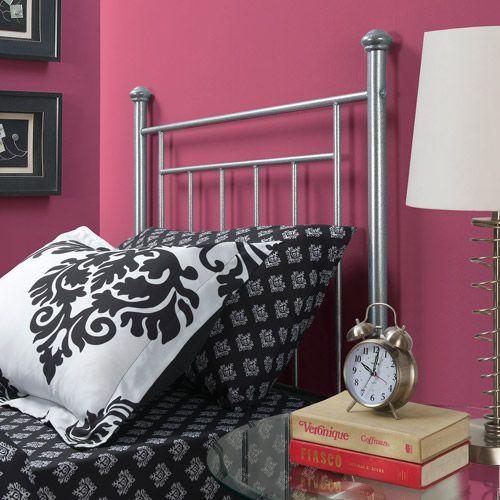 Mainstays Twin Metal Headboard - Walmart.com   bedroom   Pinterest