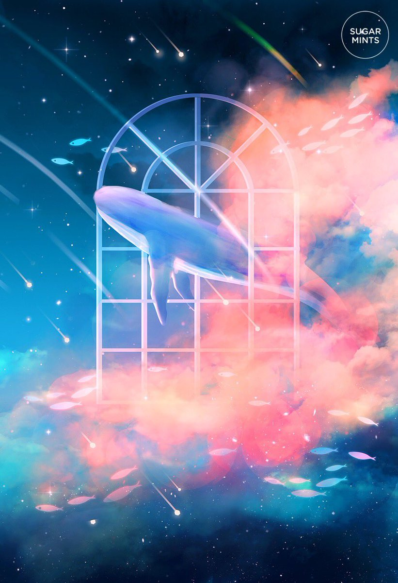 Sugarmints On Twitter Night Sky Wallpaper Girl Iphone Wallpaper Galaxy Art