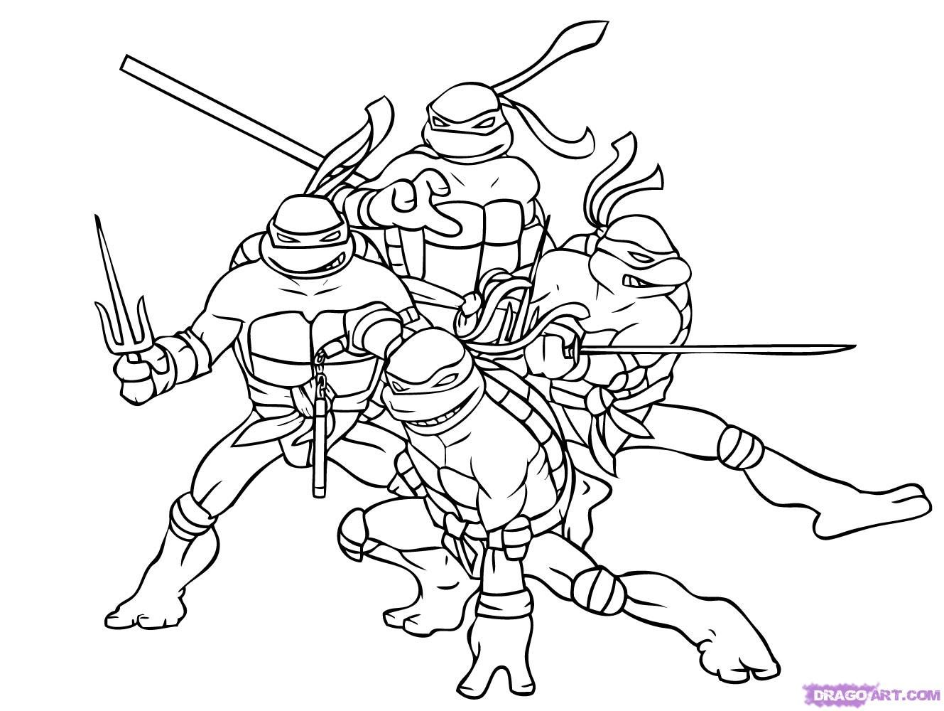 teenage mutant ninja turtles images to color | Teenage Mutant ...