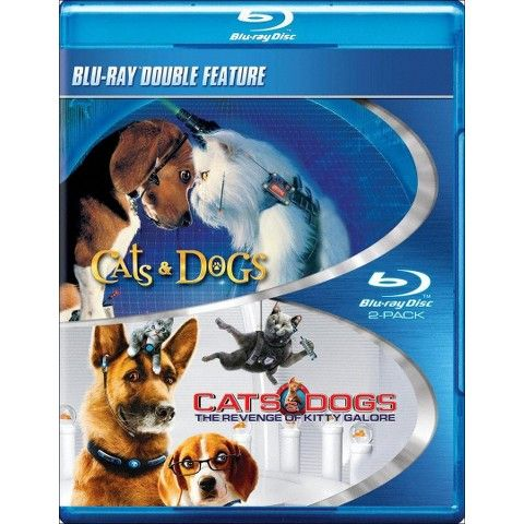 Cats Dogs 1 2 Blu Ray Dog Cat Buy A Cat Dogs