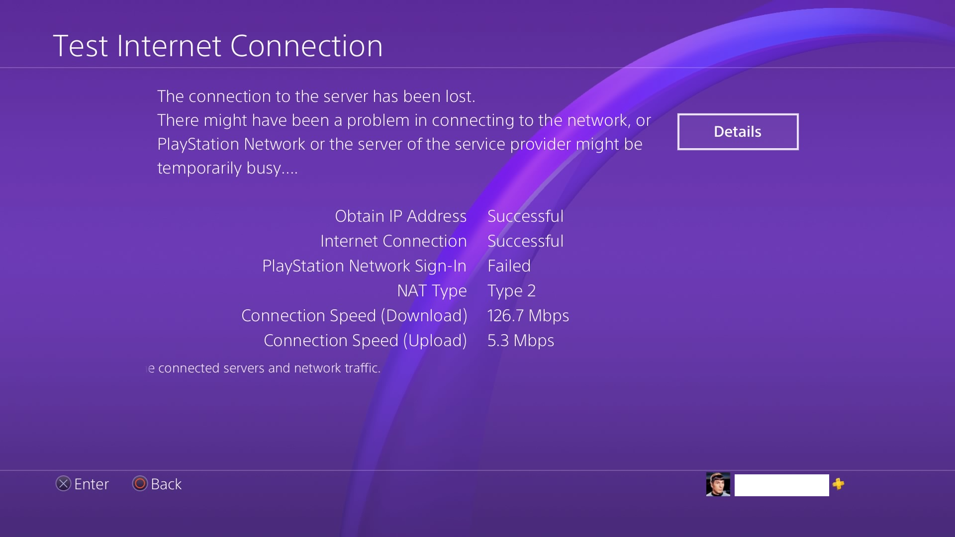 Screenshot] Anyone else unable to connect to PSN on the console