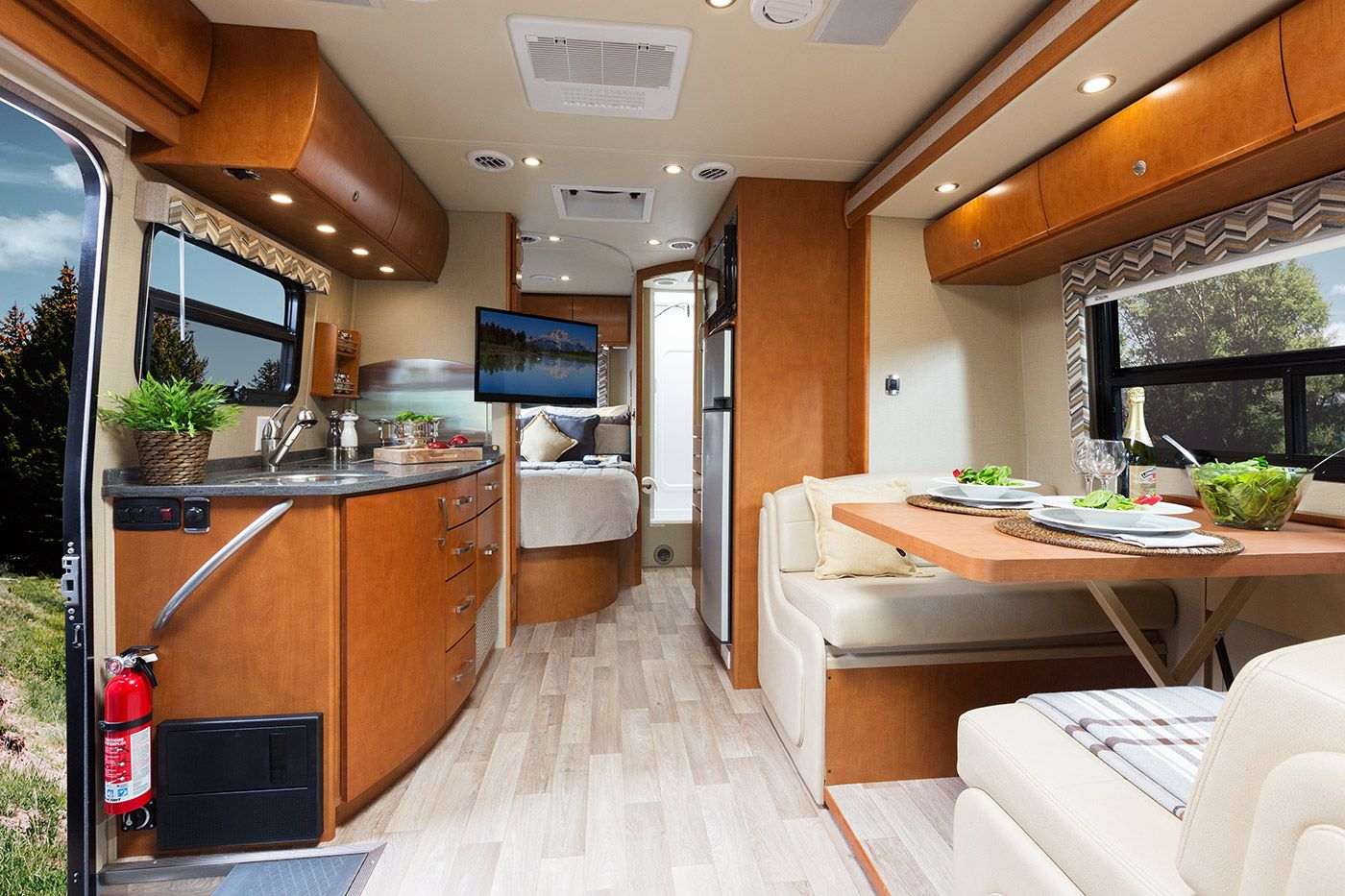 unity - floorplans | leisure travel vans, rv and mercedes sprinter