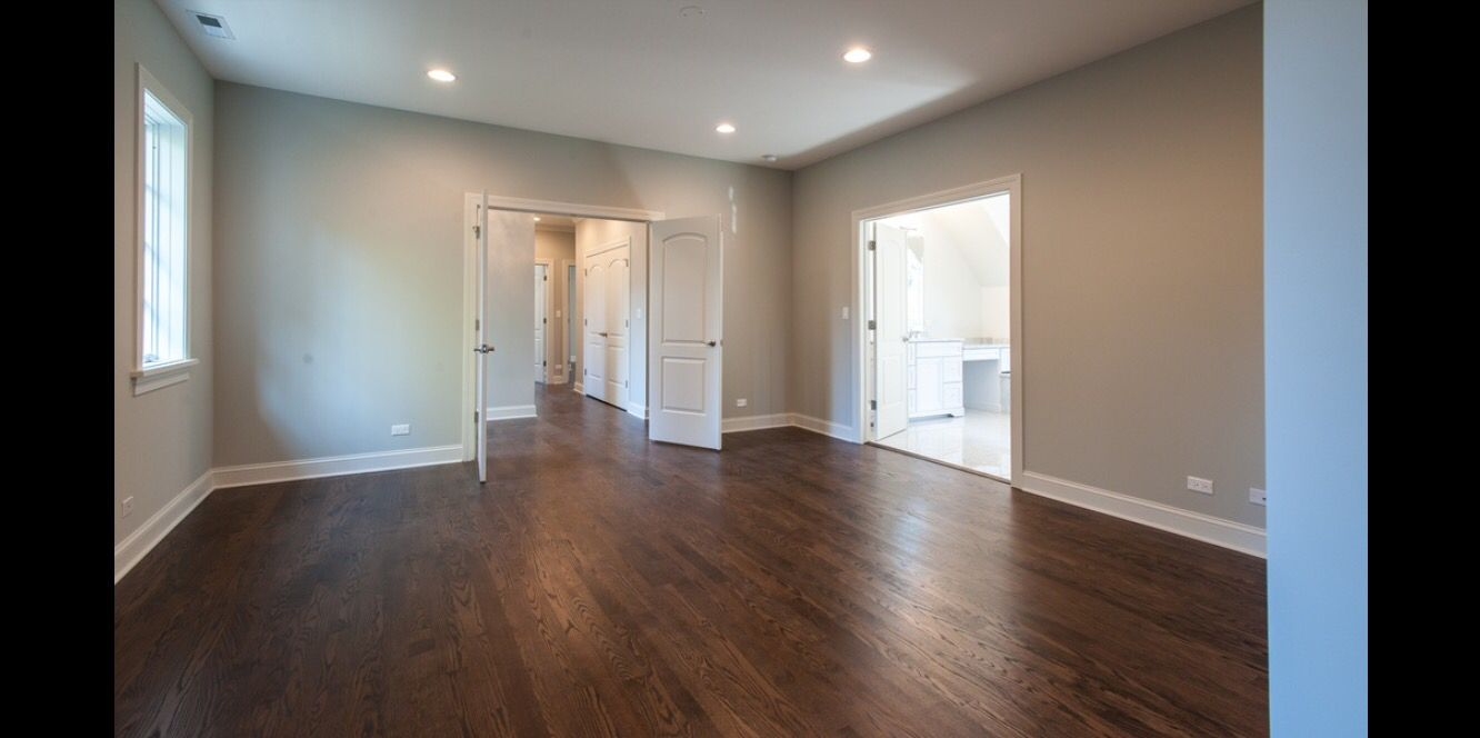 New 3 1 4 Red Oak Hardwood Floors Refinished With One Coat Of Stain Color Dark Walnut And Three Coats Water Base Finish
