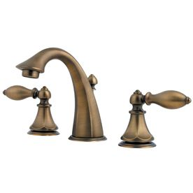 Pfister Catalina Velvet Aged Bronze 2 Handle Widespread WaterSense Bathroom  Sink Faucet (Drain Included