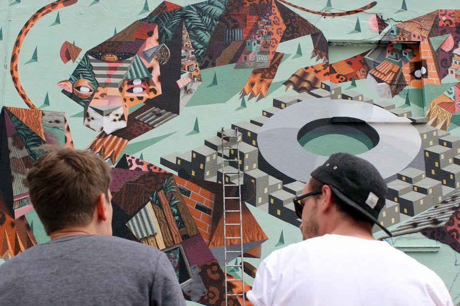 #Mural -by-Phillipp-Barth @ Urban Spree in Berlin