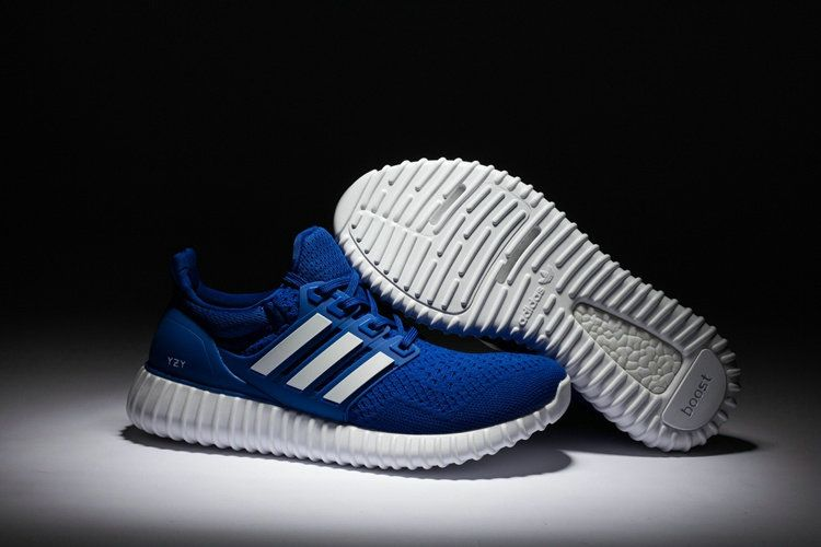 promo code 24fbb e0b81 Adidas Yeezy Ultra Boost 2016-2017 Royal Blue White UK Trainers 2017 Running  Shoes