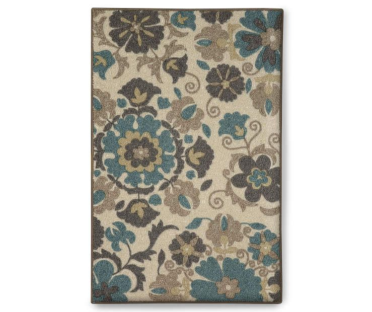 Floral Medallion Accent Rug 2 6 X 3 10 At Big Lots Accent Rugs Rugs Gorgeous Rug