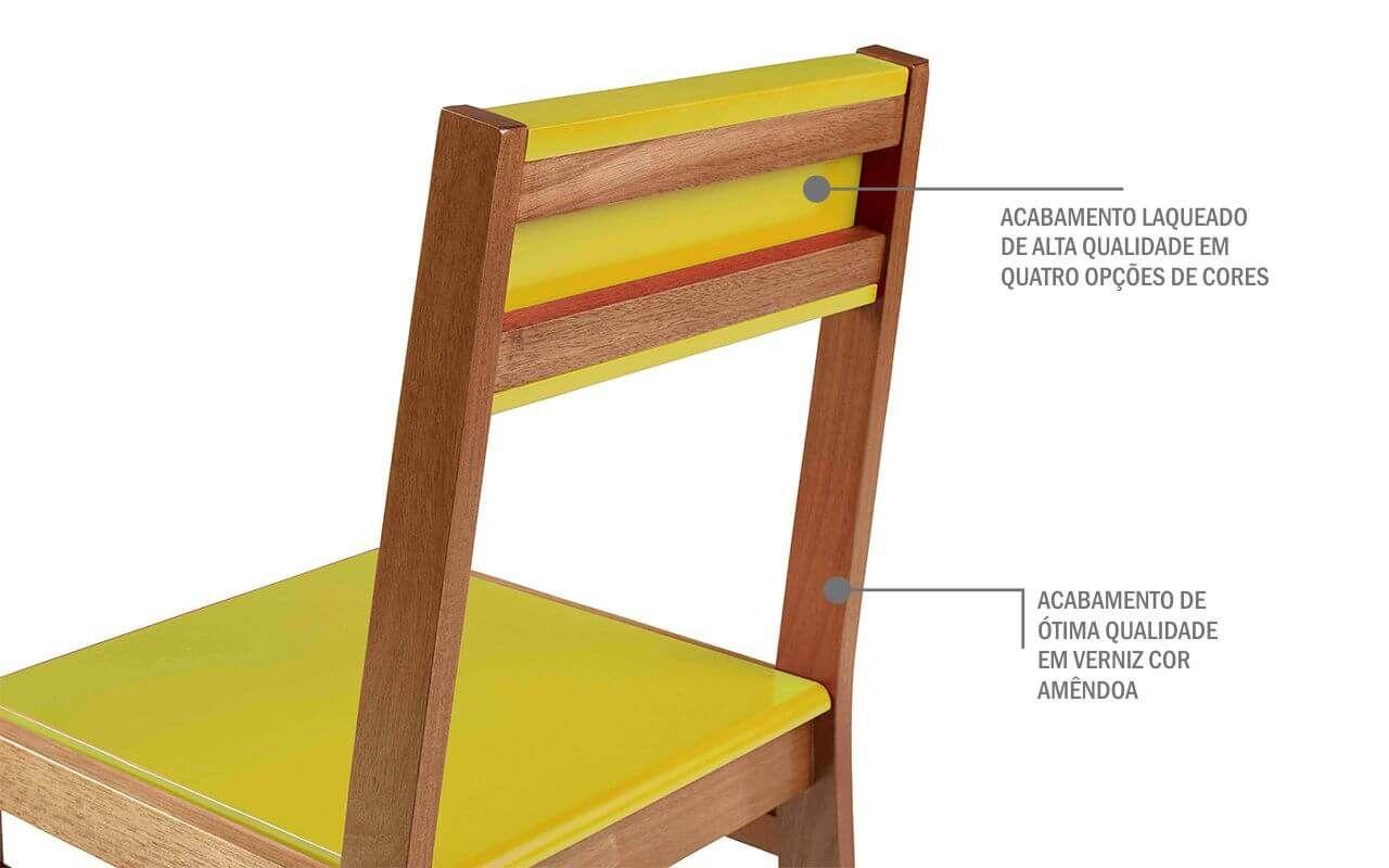 Cadeira Moderna Para Cozinha Kit Cadeiras Para Mesa De Jantar Com