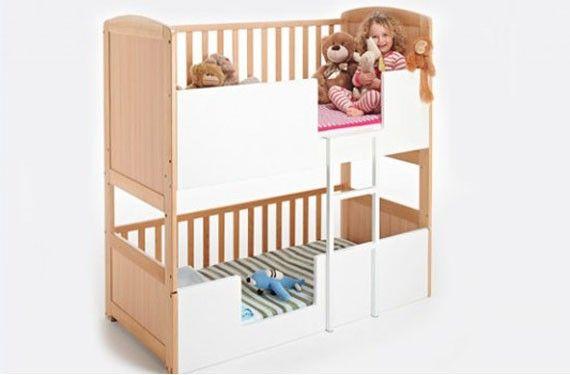 Nueva cama litera Bunkcot, para ahorrar espacio con el nuevo bebé ...