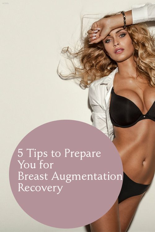 Recovery from breast augmentation idea very