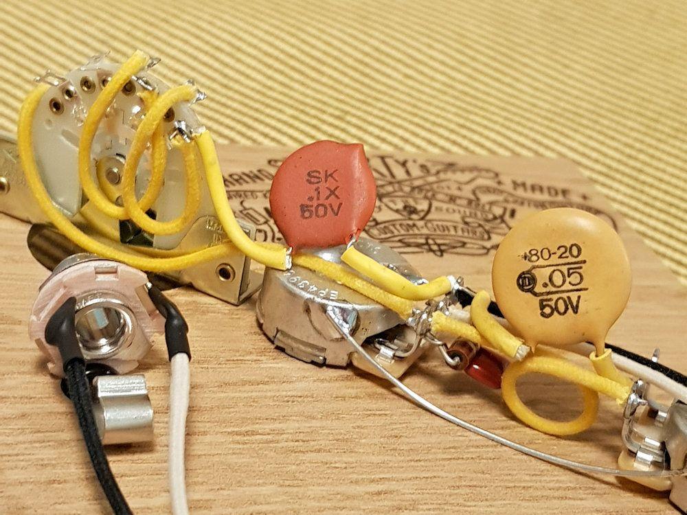 Orange Dime Circle D 05uf Nos Capacitor Custom Guitars Fender Vintage Capacitors