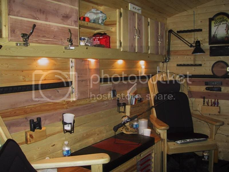 must have s for ice fishing shack