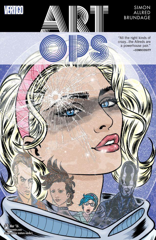 Art Ops (2015) #4 #Vertigo #DC #ArtOps (Cover Artist: Laura Allred) Release Date: 1/27/2016