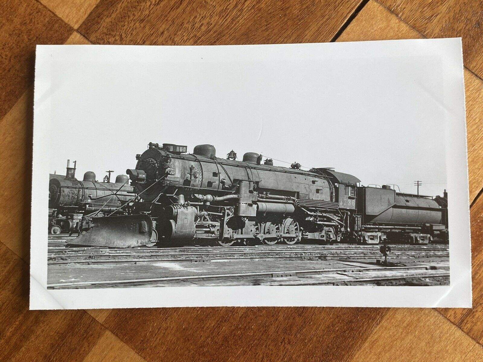 Southern Pacific Railroad Train Engine Locomotive No 3736 Antique Photo Ebay Train Engines Locomotive Antique Photos