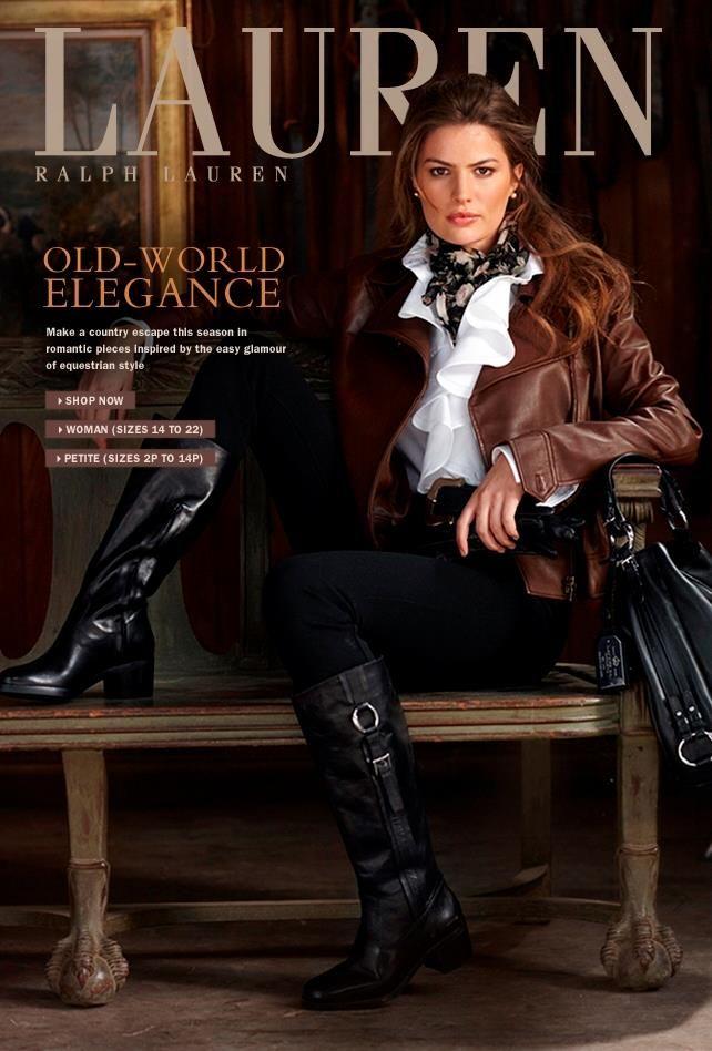 ralph lauren | Ralph lauren style, Equestrian style, Style