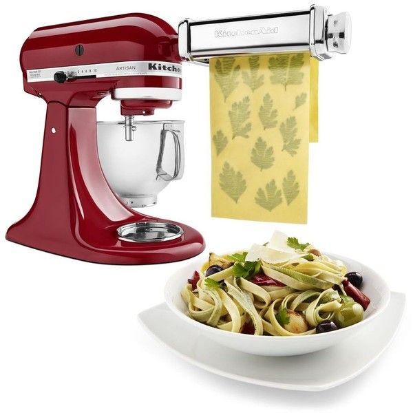 Pasta Roller Cutter Set ❤ liked on Polyvore featuring home, kitchen & dining, kitchen gadgets & tools and pasta cutter