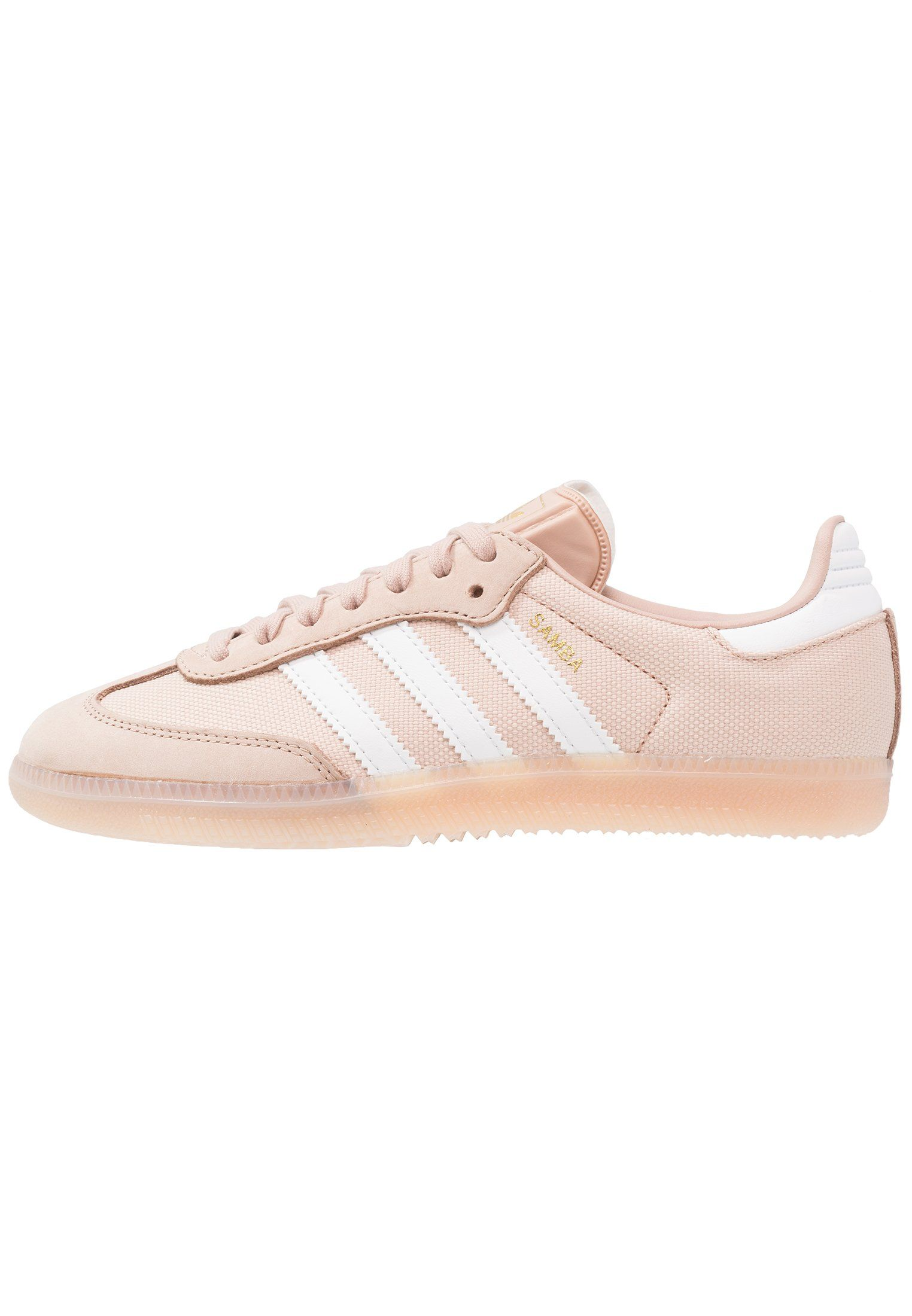 adidas Originals SAMBA - Zapatillas - ash pearl/crystal ...