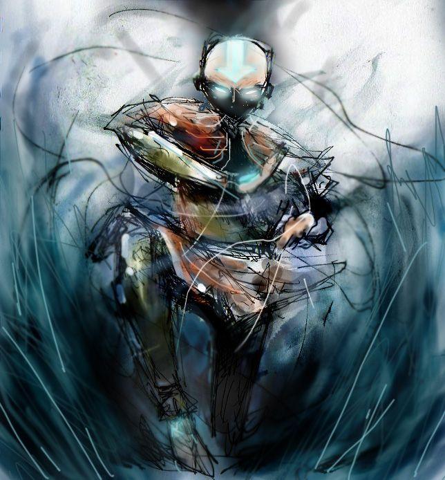 Movie Avatar State Aang: AVATAR STATE By Fuelreaver.deviantart.com On @deviantART