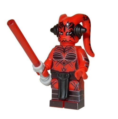 DARTH NIHL **NEW** Custom Printed Sith Lord Star Wars Block Minifigure